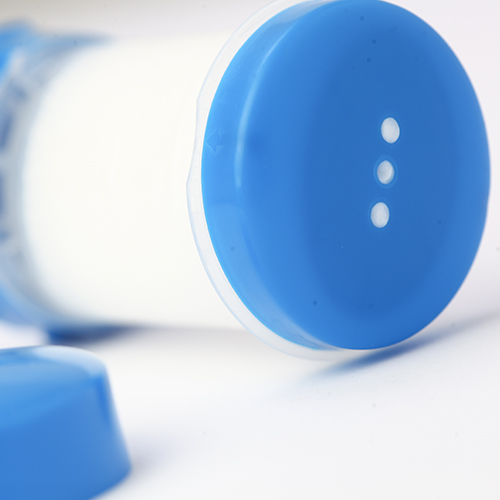 White Pack of 25 Plastic Topi-CLICK TC35WHITE 35 mL 1 Port 1.2 fl oz